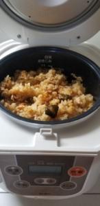【時短料理】簡単!炊き込みご飯を作る