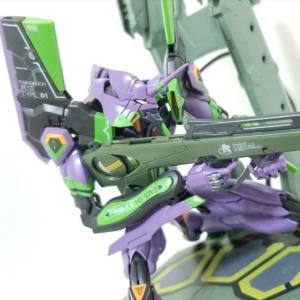 【レビュー】RG 汎用ヒト型決戦兵器 人造人間エヴァンゲリオン初号機DX 輸送台セット