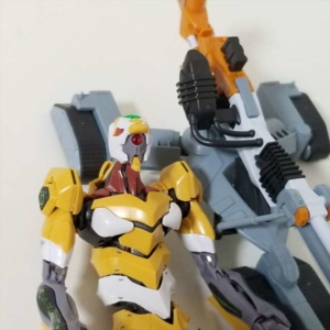 【レビュー】RG 汎用ヒト型決戦兵器 人造人間エヴァンゲリオン試作零号機DX 陽電子砲セット